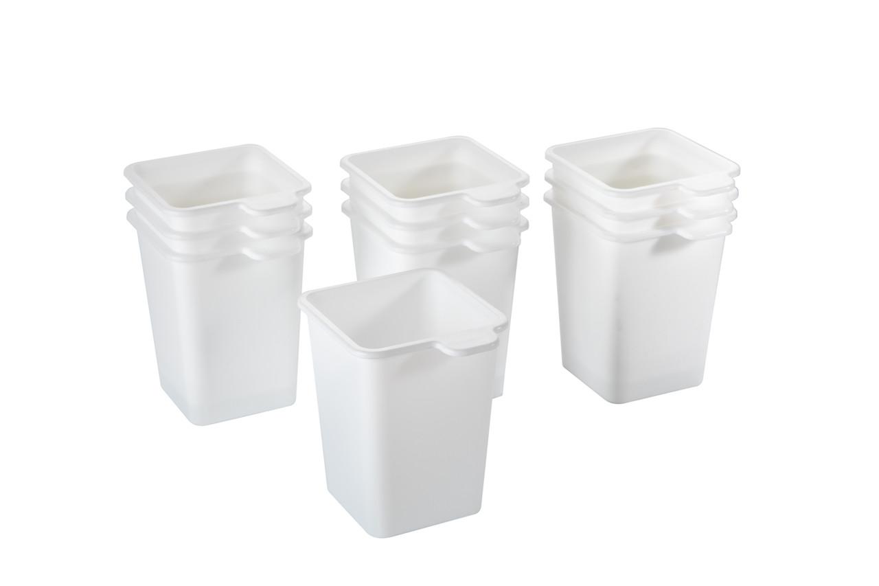 Набір стаканчиків для розсади Flora 10 шт білосніжній (АС 39201000)
