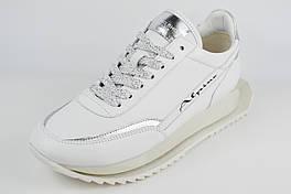 Кроссовки женские на платформе Alpino 998 38 Белые