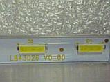 Модуль подсветки LB43026 V0_00 (матрица LC430EQY-SKA2)., фото 4