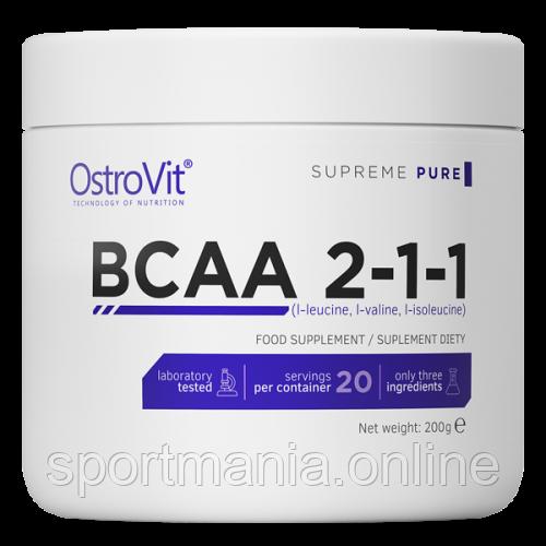 BCAA 2-1-1 - 200g Pure