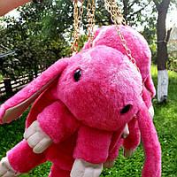 Сумка-рюкзак Кролик, розовая