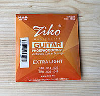 Струны для акустической гитары фосфорная бронза