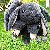 Сумка-рюкзак Кролик, серая