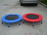 Мини батут комнатный для прыжков и фитнеса Атлето 102 см для детей и взрослых, батут для джампинга, фото 2