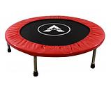 Мини батут комнатный для прыжков и фитнеса Атлето 102 см для детей и взрослых, батут для джампинга, фото 3