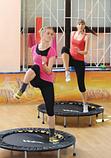 Мини батут комнатный для прыжков и фитнеса Атлето 102 см для детей и взрослых, батут для джампинга, фото 4