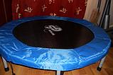 Мини батут комнатный для прыжков и фитнеса Атлето 102 см для детей и взрослых, батут для джампинга, фото 6
