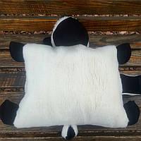 Барашек Шон игрушка подушка белого цвета большой