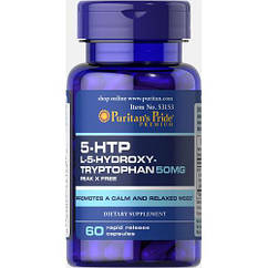 5-HTP 50 mg (Griffonia Simplicifolia) - 60 Caps