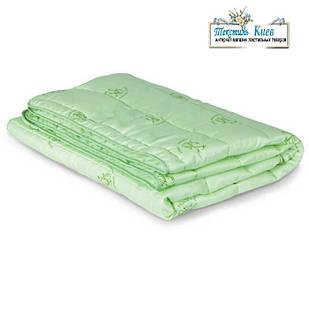 Одеяло бамбуковое полуторное 150 х 215 см Легкое одеяло весна лето Тонкое одеяло Демисезонное Одеяло в сумке