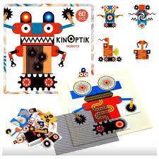 Анимационные магнитные пазлы Kinoptik