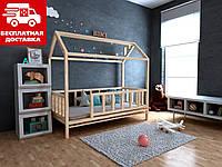 Дитяче ліжко-будиночок Тедді 80*190 (масив вільхи), фото 1