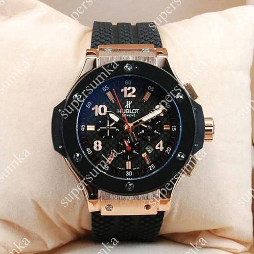 Механические наручные часы Hublot Big Bang Gold/Black 1239