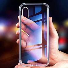Прозрачный чехол с усиленными бортами iPhone X/XS