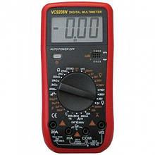 Цифровой Профессиональный мультиметр VC9208N тестер вольтметр + термопара