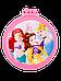 Расчёска для волос La Rosa детская с зеркалом складная Princess 7044, фото 2