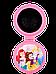 Расчёска для волос La Rosa детская с зеркалом складная Princess 7044, фото 3