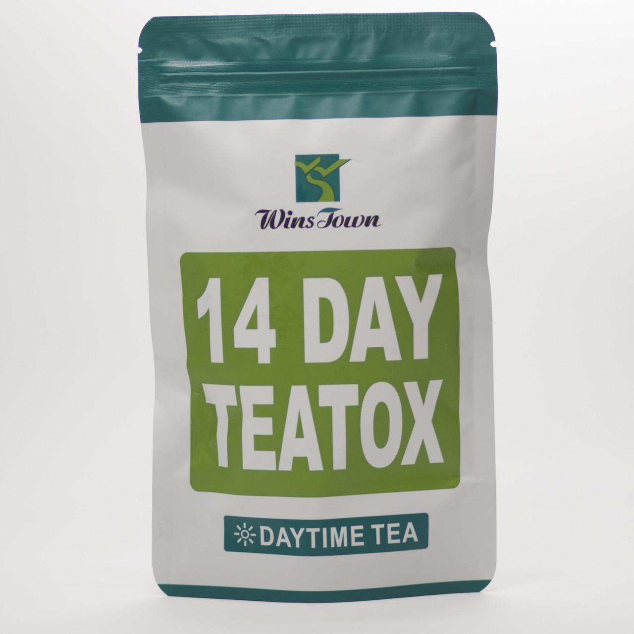 Денний чай Daytime tea - китайський чай для очищення організму зниження ваги. Упаковка: 14 фільтр пакетиків