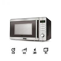Микроволновая печь Микроволновка СВЧ печь 700 Вт DSP Серая (KB-6002)