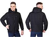 Молодіжна чоловіча демісезонна куртка з поясом Norway 021, фото 7