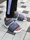 Женские сандали Adidas Sandals Grey White, фото 5