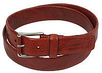 Женский кожаный пояс, ремень Farnese, Италия, SFA780 коричневый, фото 1