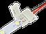 Соединительный кабель + 1 зажим для светодиодной ленты 2835\3528, 8мм, фото 3