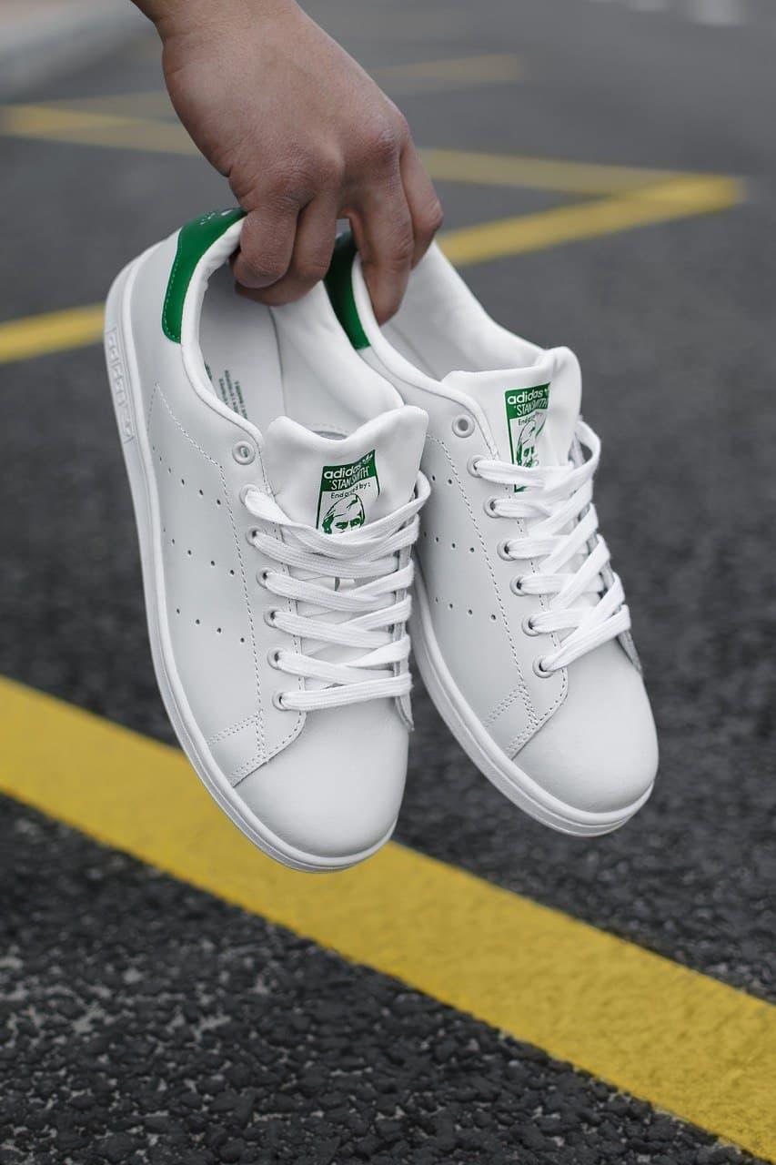 Мужские кроссовки Adidas Stan Smith Adidas Green