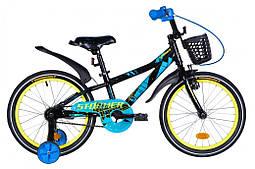 Детский велосипед 18 дюймов FORMULA STORMER 2021