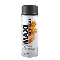 Краска аэрозольная термостойкая графитовая Maxi Color 650°С (MX0014) 400мл