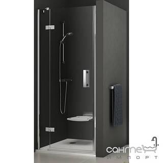 Душевые кабины, двери и шторки для ванн Ravak Душевые двери в нишу Ravak SmartLine SMSD2-90 A-L 0SL7AA00Z1 хром/прозрачное левая