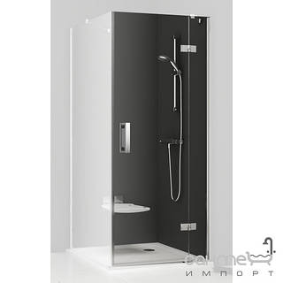 Душевые кабины, двери и шторки для ванн Ravak Душевые двери для душевого уголка Ravak SmartLine SMSD2-90 B-R 0SP7BA00Z1 хром/прозрачное правая