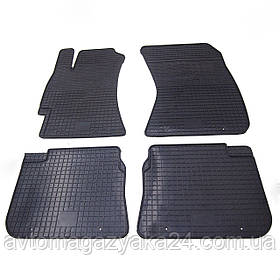 Коврики резиновые для Subaru Impreza 2007-2012 Передние (POLYTEP LUX)