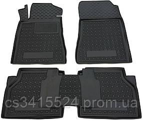 Коврики полиуретановые для Volkswagen Polo хетчбек (2010>) (Avto-Gumm)