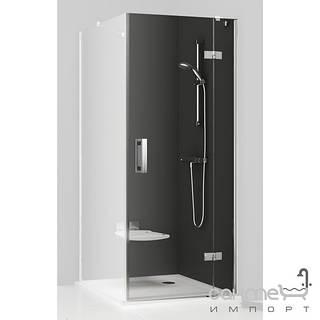 Душевые кабины, двери и шторки для ванн Ravak Душевые двери для душевого уголка Ravak SmartLine SMSD2-120 B-R 0SPGBA00Z1 хром/прозрачное правая