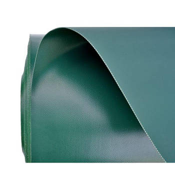 Рулон пвх-ткани для надувных лодок 50х2,05м (дил. 3,85/м2)  зеленый 950гр