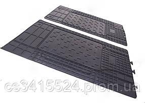 Коврики резиновые Универсальные для 2-й,3-й ряд сидений 1460/430мм (POLYTEP CLASSIC)
