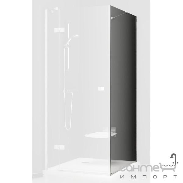 Душевые кабины, двери и шторки для ванн Ravak Неподвижная стенка для душа Ravak SmartLine SMPS-100 L хром/прозрачное 9SLA0A00Z1 левая