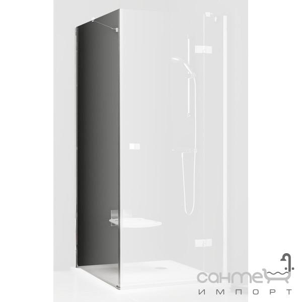 Душевые кабины, двери и шторки для ванн Ravak Неподвижная стенка для душа Ravak SmartLine SMPS-80 R хром/прозрачное 9SP40A00Z1 правая