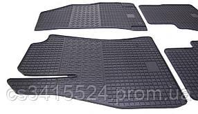 Коврики резиновые для Fiat Doblo (2) (2010-2015) Передние (POLYTEP LUX)