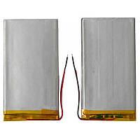 Батарея (аккумулятор, акб) для китайских планшетов, универсальный, 1400 mAh, 107х52х2,7 мм