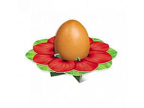 Декоративна підставка для яєць №1 Мак (1 яйце) ТМ EASTERS