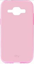 Чехол Utty Samsung galaxy j1 2015 j100 розовый