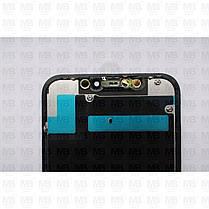 """Дисплей iPhone 11 (6.1"""") Black, оригинал с рамкой (восстановленное стекло), фото 3"""