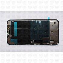 """Дисплей iPhone 11 (6.1"""") Black, оригинал с рамкой (восстановленное стекло), фото 2"""