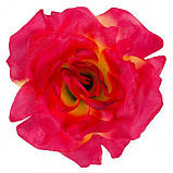 Искусственные цветы букет роз и герани, 45см, фото 2