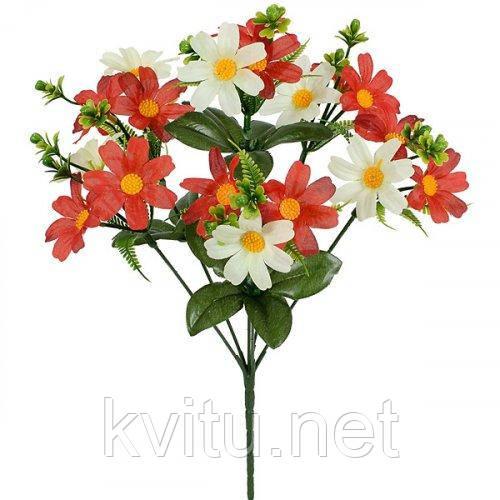 Искусственные цветы букет ромашек Россыпь, 35см