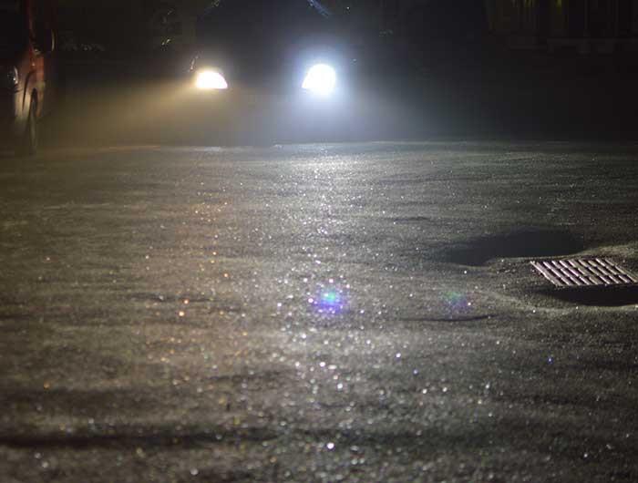 Первые тесты Led ламп G7 H7. Ford focus II