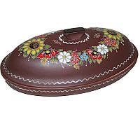 "Глиняная посуда ""Хлебница Букет"""