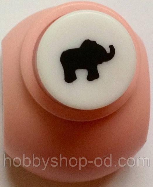 Дырокол Слон 1 см кнопка